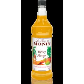 MONIN HONEY MANGO FLAVORED SYRUP, PLASTIC LITER BOTTLE - 4 PER CASE