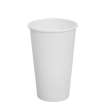 CUP, PAPER, 16 OZ, WHITE, HOT