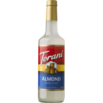 ALMOND (ORGEAT) FLAVOR, SYRUP (4/750ML) - 4 PER CASE
