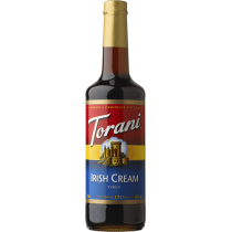 TORANI IRISH CREAM FLAVOR, SYRUP (4/750ML) - 4 PER CASE