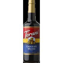 TORANI CHOCOLATE MILANO FLAVOR, SYRUP- 4 PER CASE