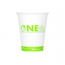 KARAT EARTH 12 OZ PLA-LINED PAPER CUP  *STOCK PRINT*, COMPOSTABLE, KE-K512 (1000/CS)