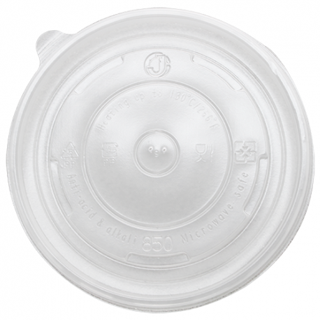 KARAT FLAT PLASTIC LID, FOR 24-32 OZ HOT/SOUP CONTAINER, KDL142-PP (600/CS)