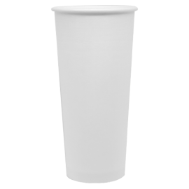 KARAT 24 OZ WHITE PAPER HOT CUP (500/CS)