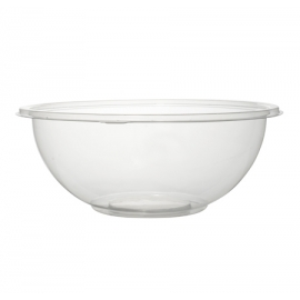 FINELINE 24 OZ CLEAR PLASTIC BOWL, SUPER BOWL, 5024-CL (50)