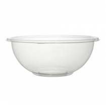 FINELINE 32 OZ CLEAR PLASTIC BOWL, SUPER BOWL, 5320-CL (50)