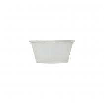 PORTION CUP, *COMPOSTABLE*, CLEAR, 2 OZ, PLA - 2,000 PER CASE