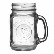 LIBBEY 97085, DRINKING JAR, 16 OZ, HANDLED - 12 PER CASE