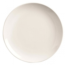 "WTI PLATE, 7.25"", BRIGHT WHITE, COUPE / NO RIM - 36 PER CASE"