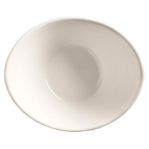 "WTI INFINITY BOWL, 4 OZ, 5"" X 4.5"", BRIGHT WHITE - 36 PER CASE"