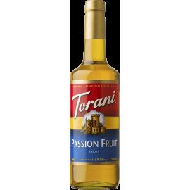 TORANI PASSION FRUIT FLAVOR, SYRUP (4/750 ML) - 4 PER CASE