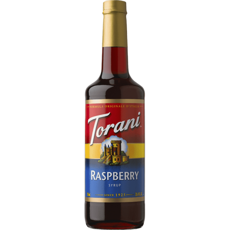 TORANI RASPBERRY FLAVOR, SYRUP (4/750ML) - 4 PER CASE