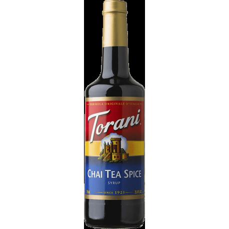 TORANI CHAI TEA SPICE FLAVOR, SYRUP (4/750 ML)- 4 PER CASE