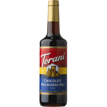 TORANI CHOCOLATE MACADAMIA NUT FLAVOR, SYRUP (4/750 ML) - 4 PER CASE