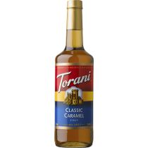 CARAMEL CLASSIC FLAVOR, SYRUP (4/750ML) - 4 PER CASE
