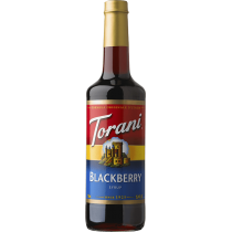 TORANI BLACKBERRY FLAVOR, SYRUP (4/750ML) - 4 PER CASE