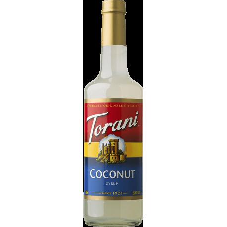 TORANI COCONUT FLAVOR, SYRUP (4/750ML) - 4 PER CASE