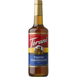 TORANI TOASTED MARSHMALLOW FLAVOR, SYRUP (4/750 ML) - 4 PER CASE