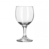 WINE, 8.5 OZ ROUND BOWL, EMBAS