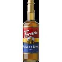 TORANI VANILLA BEAN FLAVOR, SYRUP (4/750ML) - 4 PER CASE