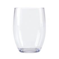G.E.T. 12 OZ  SAN PLASTIC STEMLESS WINE, 1461-CL (24)