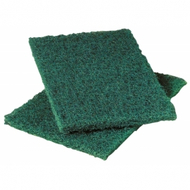 HEAVY DUTY GREEN SCOURING PADS (60)