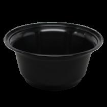 KARAT 36 OZ BLACK POLYPROPYLENE PLASTIC BOWL FP-IMB36B - 300 PER CASE