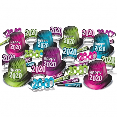 "BEISTLE 80235-50 NEW YEAR ""2020"" ASSORMENT FOR 50 (KIT)"
