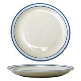 "ITI PLATE, 10.5"", DANUBE PATTERN, NARROW RIM - 12 PER CASE"
