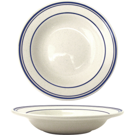 "ITI SOUP BOWL, 12 OZ, 8.75"", DANUBE PATTERN, NARROW RIM - 24 PER CASE"