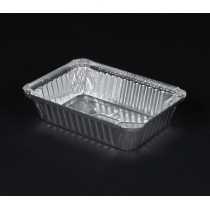 2.25LB FOIL OBLONG CONTAINER, 250-30-500 (500)