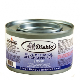 DIABLO® 2 HOUR GEL METHANOL CHAFING DISH FUEL - 72 PER CASE