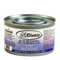 DIABLO® 2 HOUR GEL METHANOL CHAFING DISH FUEL - 72 PER CASE