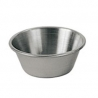 OYSTER / SAUCE CUP, 1.5 OZ, STAINLESS STEEL (12/BOX)