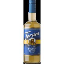 TORANI ENGLISH TOFFEE *SUGAR FREE* FLAVOR SYRUP, 750 ML BOTTLE
