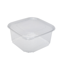 KARAT 64 OZ CLEAR TAMPER EVIDENT DELI CONTAINER W/ SEPERATE LID, (200)