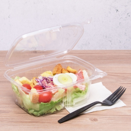 KARAT 32 OZ CLEAR TAMPER EVIDENT DELI CONTAINER W/LID, (200)