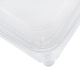 KARAT 32 OZ CLEAR TAMPER EVIDENT DELI CONTAINER W/LID, (200)