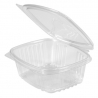 GENPAK PLASTIC 8 OZ, HINGED LID, DELI CONTAINER, SECURE SEAL,  AD08 (200)