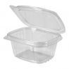 GENPAK PLASTIC 6 OZ, HINGED LID, DELI CONTAINER, SECURE SEAL,  AD06 (400)