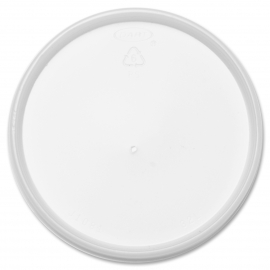DART 32JL TRANSLUCENT PLASTIC LID, W/VENT, FOR FOAM CONTAINERS/ CUPS (1000)