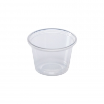 1 OZ PORTION CUP, TALL, TRANSLUCENT (5,000)
