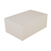 BAKERY / SNACK BOX, 7 X 4.5 X 2.75, TUCK TOP, WHITE, 2717 (500) SCT