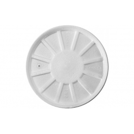 DART 32RL FOAM LID, W/VENT, FOR FOAM CONTAINERS/ CUPS (500)