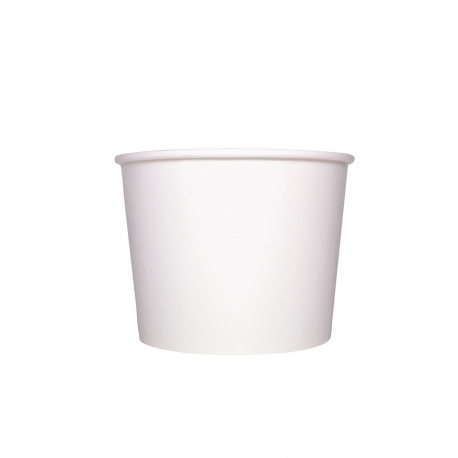 KARAT 32 OZ WHITE HOT/SOUP PAPER CONTAINER, C-KDP32W (600/CS)