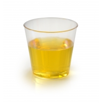 SHOT CUP, 1.5 OZ, HARD PLASTIC