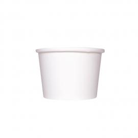 KARAT 8 OZ WHITE GOURMET HOT/SOUP PAPER CONTAINER (1000)