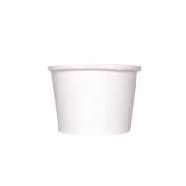 KARAT 10/12 OZ WHITE GOURMET HOT/SOUP PAPER CONTAINER (500)