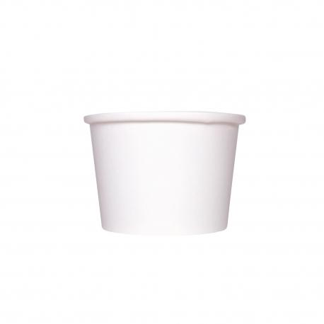 KARAT 10/12 OZ WHITE GOURMET HOT/SOUP PAPER CONTAINER (500)