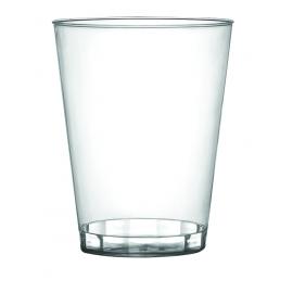 FINELINE 2 OZ SHOT CUP, HARD PLASTIC, CLEAR, 402-C (50/SLEEVE)